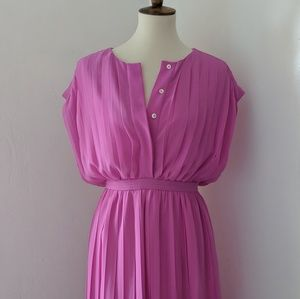 Pink J. Crew A-line Dress